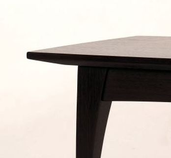 Wenge coffee table detail